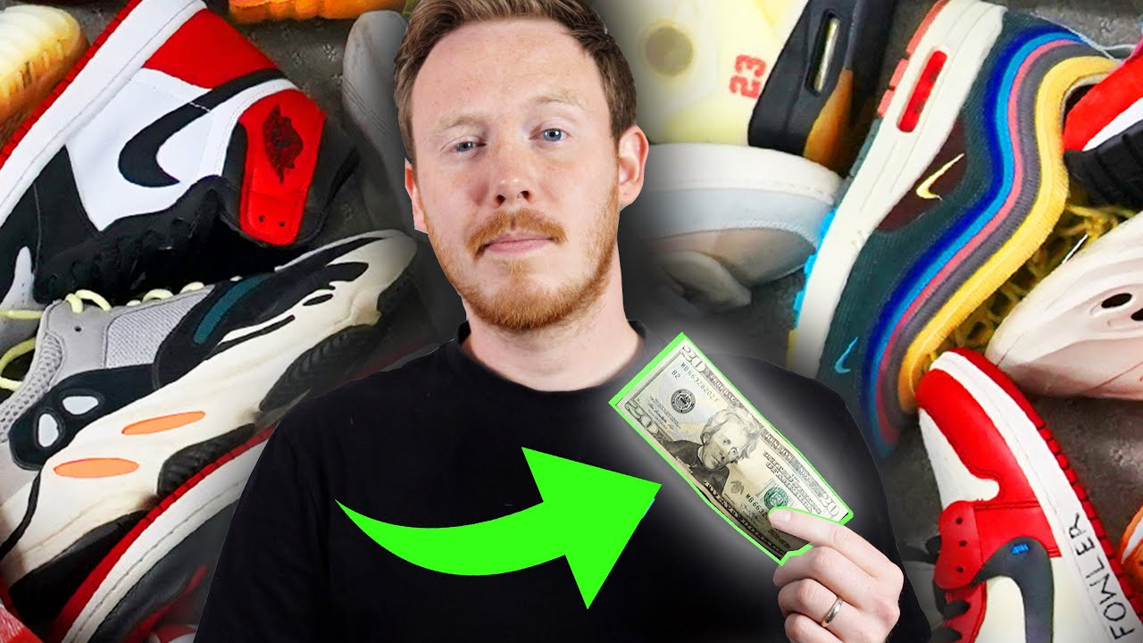 Buying an ENTIRE Sneaker COLLECTION for $20!? (Episode 1)