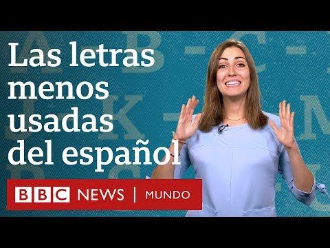 ¿cuáles-son-las-letras-menos-usadas-del-español?- -bbc-mundo