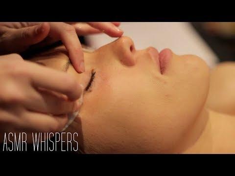 ASMR Whispering | Facial Cleanse & Exfoliate