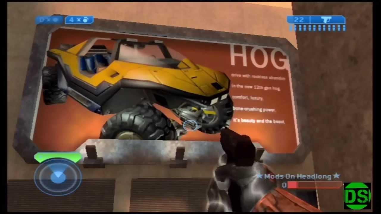 Halo 2 Golden Warthog On Headlong YouTube