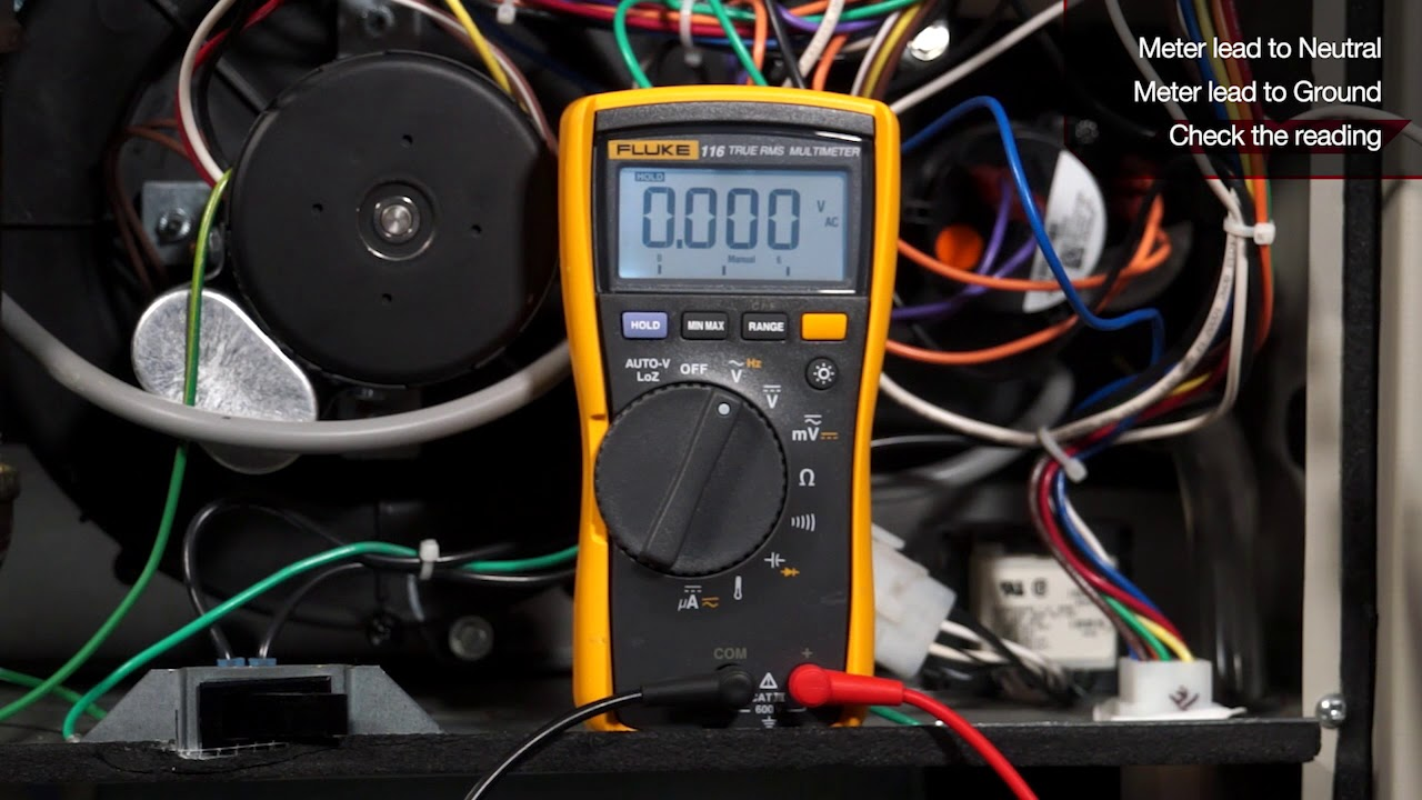 Checking Voltage From Neutral To Ground Youtube Home Wiring Basics