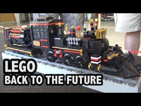 LEGO Back To The Future Time Machine Train / Jules Verne Train