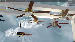 ROBLOX- Six Famous Ceiling Fans Full Walkthrough 3/10/18