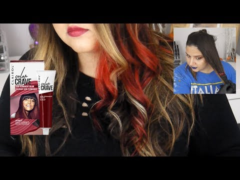 CLAIROL COLOR CRAVE REVIEW! | DIY Red Hair at HOME! | Vanessa Giorgio