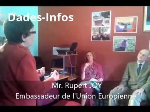 le chef de la Délégation de l'UE à Rabat visite à Ouarzazate