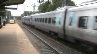 Acela Express at Princeton Junction, New Jersey