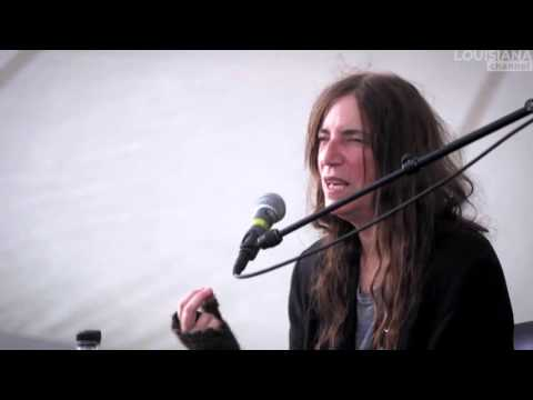 Patti Smith:Advice to the young