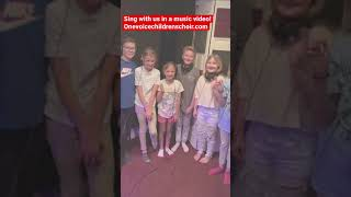 One Voice International | Sing in our music video. OneVoiceChildrenschoir.com