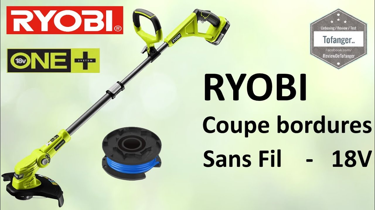 триммер Ryobi One Rlt183225f