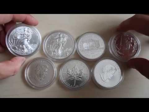 Серебряные инвестиционные монеты - моя коллекция