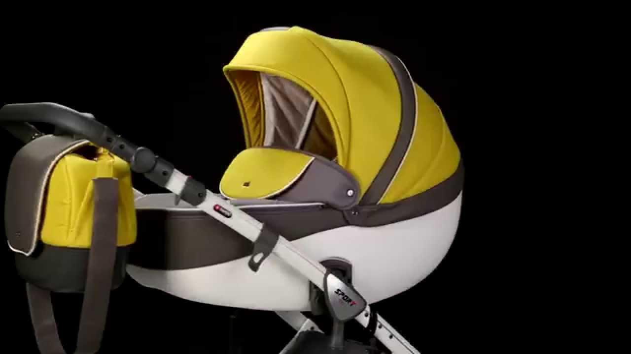 Anex Sport - видео обзор коляски Anex Sport 2 в 1 с отзывами .