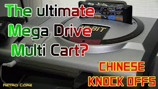 The Ultimate Mega Drive multi cart? - 112 games shown!  Chinese Knock Offs