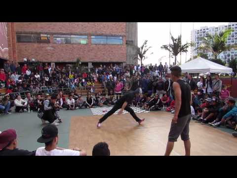 bboy pikoro vs bboy jorge final power moves batalla de norte bogota 2014