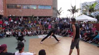 bboy pikoro vs bboy jorge final power moves batalla de norte bogota 2014