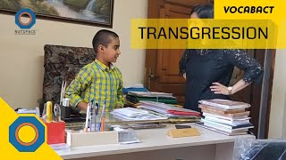 Transgression Meaning | VocabAct | NutSpace