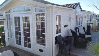 Pemberton Serena Mobile Home For Sale On Camping Almafra Caravan Park , Benidorm.