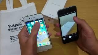 IPHONE 8 HDC VS IPHONE 6S ORI (kamera komperisen) WKWKWK