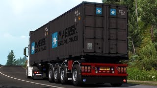 [ETS2 v1.36] Container Trailer 4 Axle
