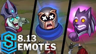 New Emotes - Patch 8.13 thumbnail