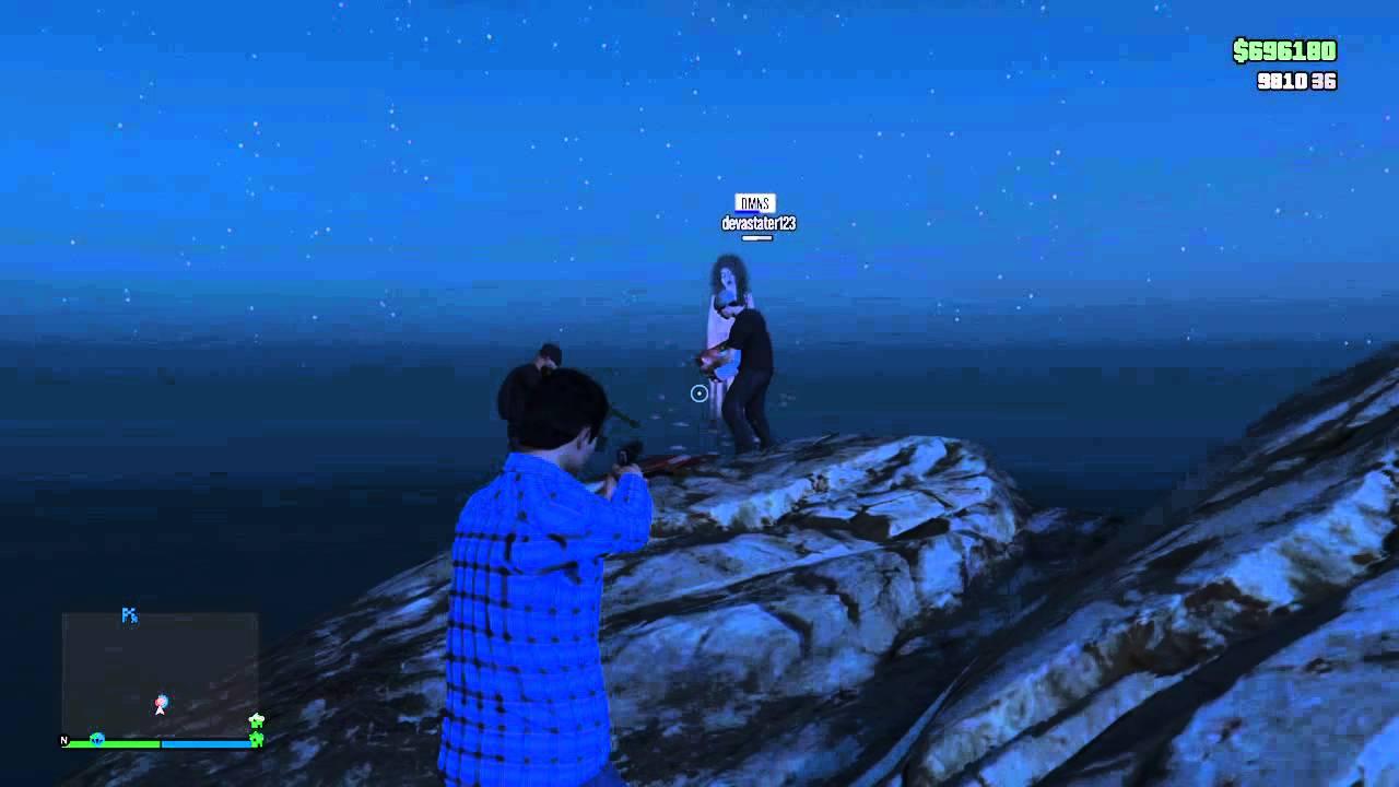 """GTA Online Ghost Girl """"From Hell""""Easter Egg - YouTube"""