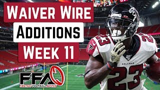 Top Waiver Wire Targets - Week 11 - 2019 Fantasy Football Advice