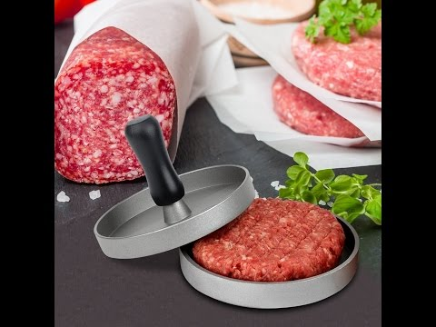Review:  ACLUXS Aluminum Burger Press Hamburger Maker Non Stick Patty Mold Ideal for BBQ