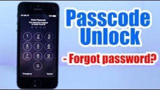 Passcode Unlock Iphone 5, 5S, 5C, 6, 6 plus, 4s, 4, Forgot Passcode Iphone Disabled any iOS