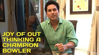 The joy of out thinking a champion bowler | #SachInsight