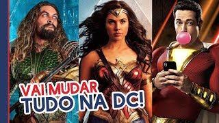VAI MUDAR TUDO! REBOOT NA DC COMICS NO CINEMA!