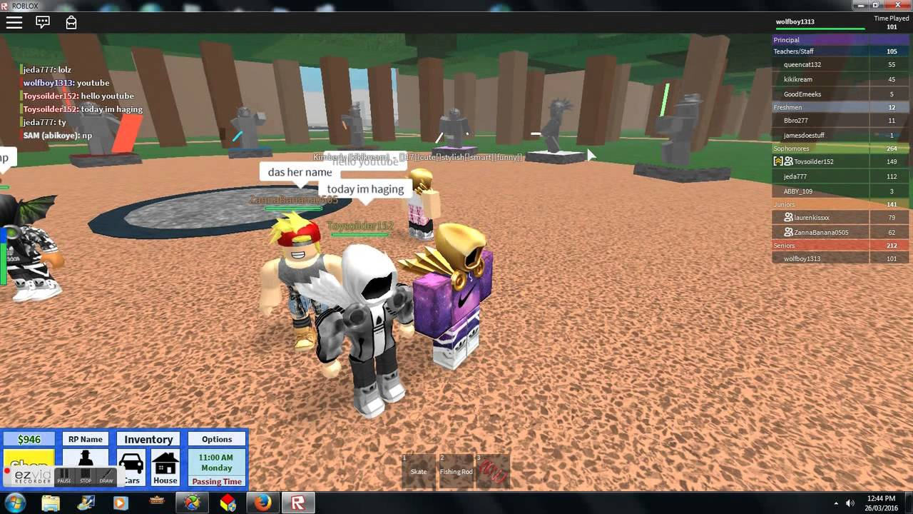 roblox high school video dominus ids