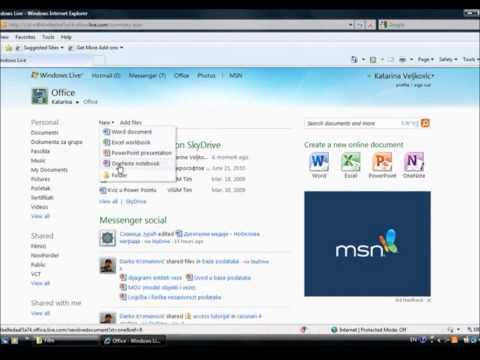 Word Web Apps.wmv