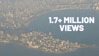 Never seen before aerial view of Mumbai in HD ! Worli sea link, Mukesh Ambani house , Taj & Gateway