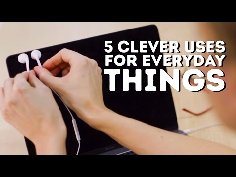5 AWESOME Uses For Everyday Items L 5-MINUTE CRAFTS