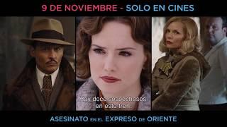 ASESINATO EN EL EXPRESO DE ORIENTE _ Estreno en Centro América_9 de noviembre. Solo en cines