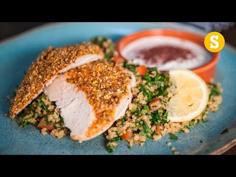 Crusted Chicken & Tabbouleh
