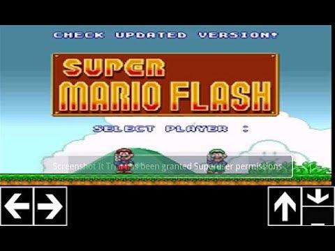Super Mario Bros Flash 1,2 Y 3 Para Android