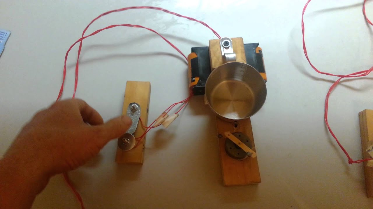 Home Made Door Bell Youtube Wiring In Doorbell