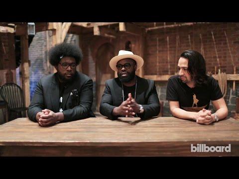 'Hamilton' Collaborators Lin-Manuel Miranda, Questlove and Black Thought on the Show's Hip-Hop Cred
