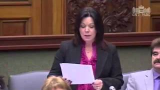 MPP Gretzky Responds to the Minister on Bullying Awareness & Prevention Week