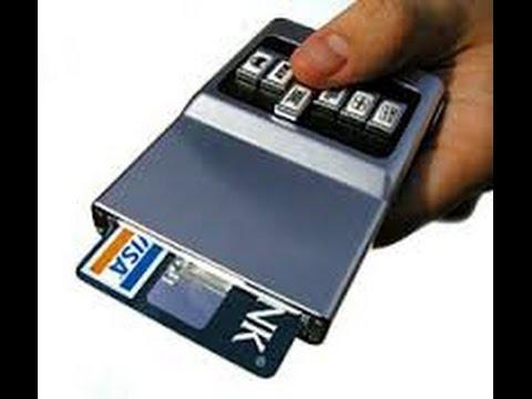 acm wallet review best gadget push button survival storage future credit card cc holder - Best Credit Card Holder