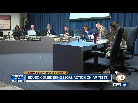 SDUSD considering legal action on Scripps Ranch AP tests
