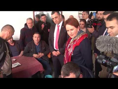 Balıkesir'de vatandaştan Meral Akşener'e HDP tepkisi