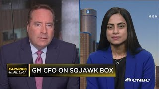GM CFO on Q3 earnings, UAW strike impact and the US economy