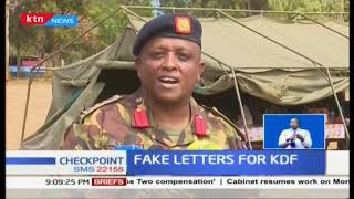 70 youth nabbed in Eldoret over fake KDF admission letters