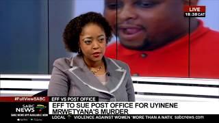 EFF takes Post Office to court: Natasha Phiri
