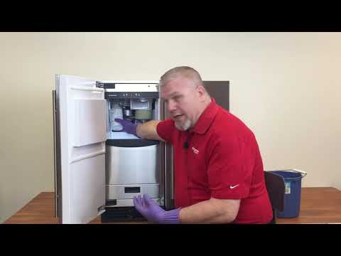 Scotsman SCN60 Nugget Ice Machine Cleaning