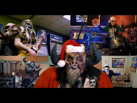 "Gwar and Mutoid Man members cover Elton John's ""Step Into Christmas"""