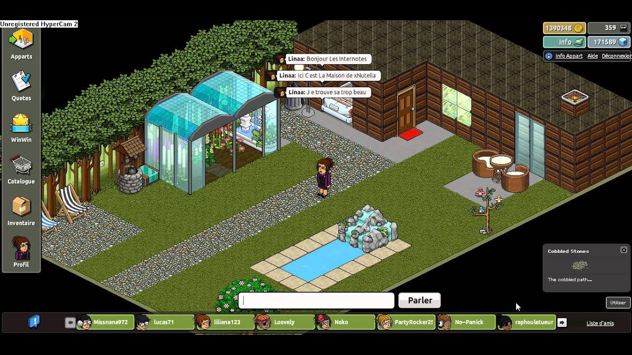 Xhabbo la belle maison youtube for Ala maison ardmore