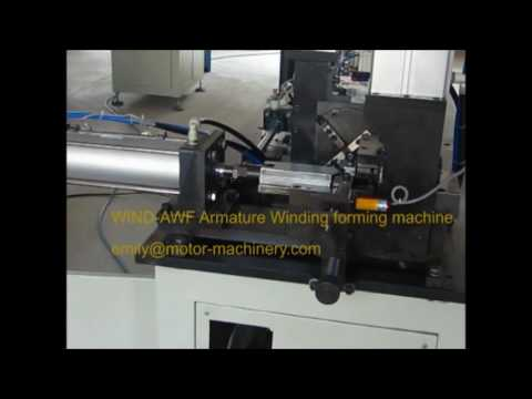 Conductor pin forming machine for auto starter armature WIND-AWF Series Shanghai Wind Automation