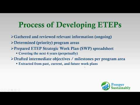 How The Pala And Yavapai Apache Tribes Developed And Use An EPA-Tribal Environmental Plan (ETEP)